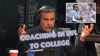 Jeff Fisher Details The Differences between NFL & College Coaching