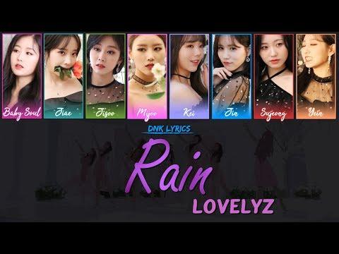 Lovelyz (러블리즈) - Rain (Lyrics) [Han Rom Eng Colour-Coded]
