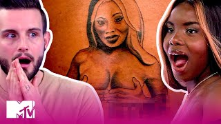 This 'Extreme' Tattoo Makes These BFFs Cry | How Far Is Tattoo Far? | MTV