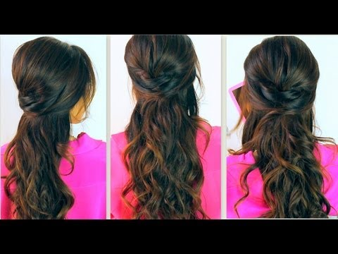 ★7 Cute Hairstyles With Just A Pencil Long Hair Tutorial