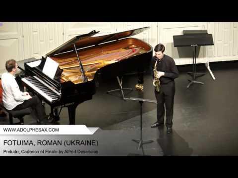 Dinant 2014 - Fotuima, Roman - Prelude, Cadence et Finale by Alfred Desenclos