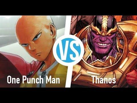 Saitama vs Thanos Power Levels (One Punch Man vs Marvel)