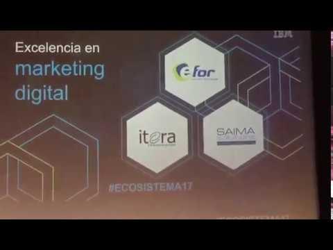 Saima Solutions Finalista Excelencia en MKT Digital