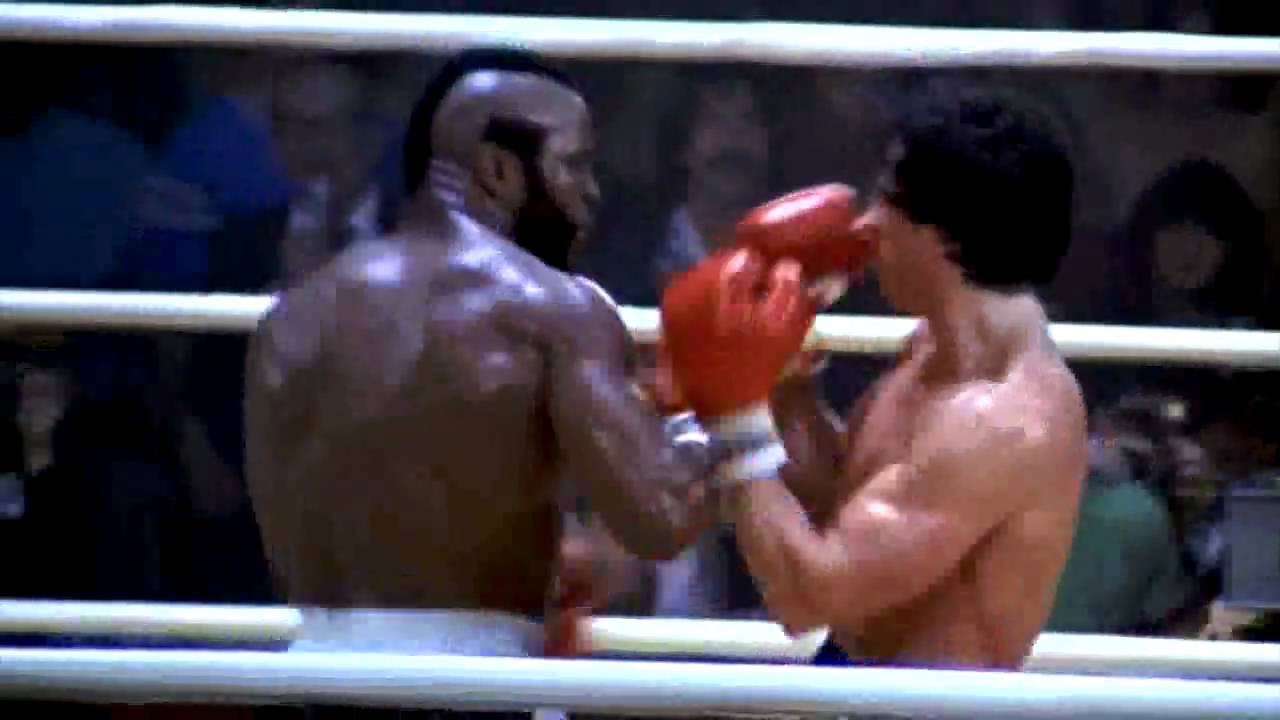CLUBBER LANG (Mr.T) Vs ROCKY - Rematch Fight in High ...