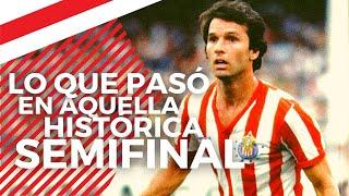 LA REALIDAD SOBRE AQUELLA HISTÓRICA BRONCA | América vs Chivas Semifinal 82-83 | Roberto Gómez Junco