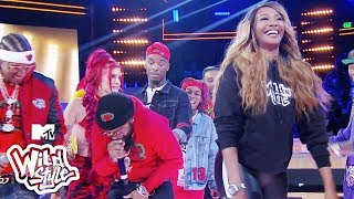 Cynthia Bailey Gives Chico Bean A Wild Lap Dance 🍑 💦 | Wild 'N Out | #Wildstyle