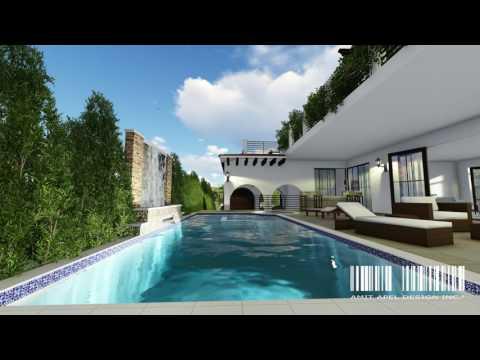 3D Rendering Design for Real Estate Development // Project Vine by Amit Apel Design Inc. PART 1
