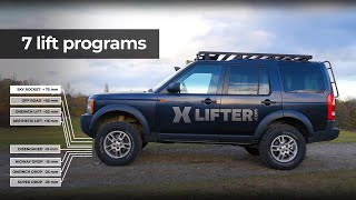 XLifter - Self leveling Air Suspension Controller for Land Rover vehicles