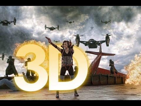 Resident Evil 5: Retribution / La Venganza 3D ~ Teaser Trailer Subtitulado Latino ~ FULL HD 3D
