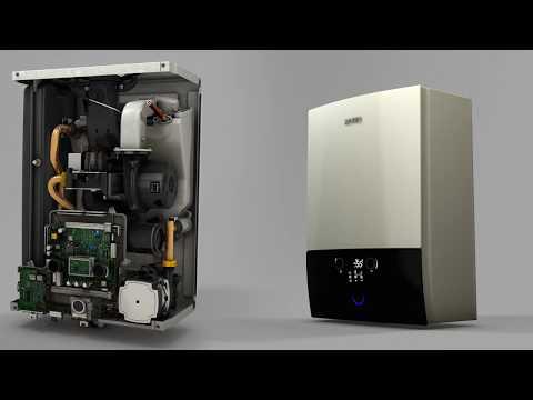 Rotex Bafa Gas-Brennwert Heizung GW Smart 35T ❏ 35kW