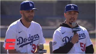 Best of Mookie Betts, David Price's Dodgers introductory press conference | MLB on ESPN