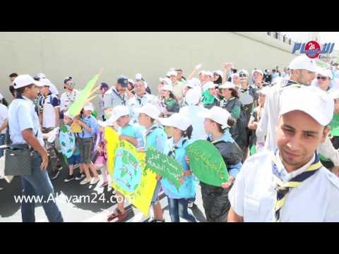 كواليس وأجواء المسيرة الحاشدة للبيئة بطنجة