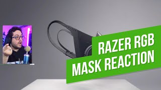 Razer RGB Gamer Mask Reaction (Project Hazel)