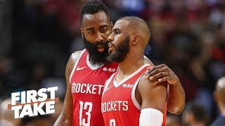 Chris Paul should be traded if the Rockets are 'open for business' - Max Kellerman | First Take