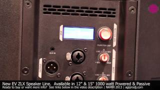 ELECTRO-VOICE ZLX-12P  POWERED SPEAKER in action