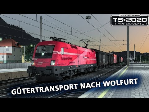 Train Simulator 2020: Gütertransport nach Wolfurt
