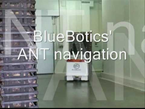 BlueBotics - ANT® on Esatroll's Paquito