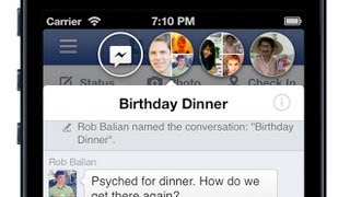 How to get Chat heads on IOS - Facebook Chat Heads