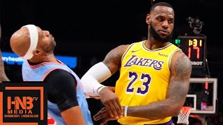Los Angeles Lakers vs Atlanta Hawks Full Game Highlights | 02/12/2019 NBA Season