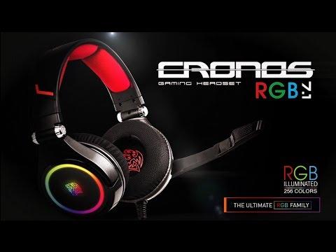 TteSPORTS Cronos RGB 7.1 Gaming Heatset