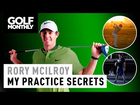 Rory McIlroy's Practice Poster