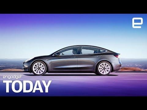 Tesla Model 3 long-range design explained in EPA filing   Engadget Today
