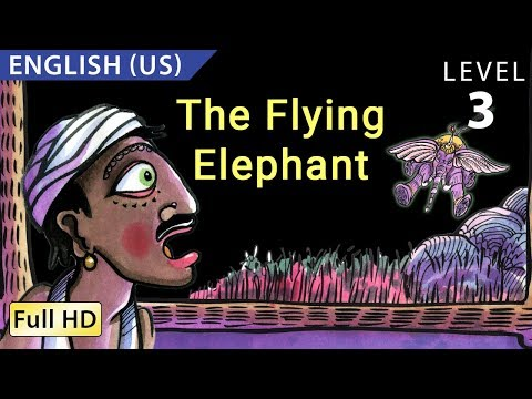 "The Flying Elephant: Learn English (US) with subtitles - Story for Children ""BookBox.com"""
