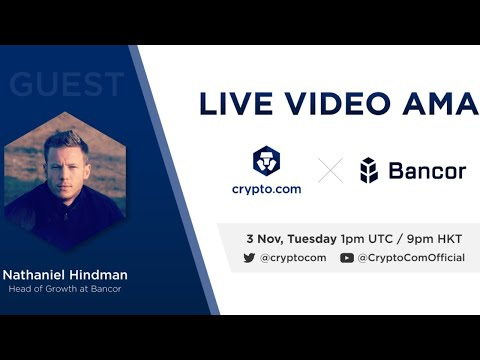 [Bancor] - Live Video AMA with Nate Hindman, Head of Growth