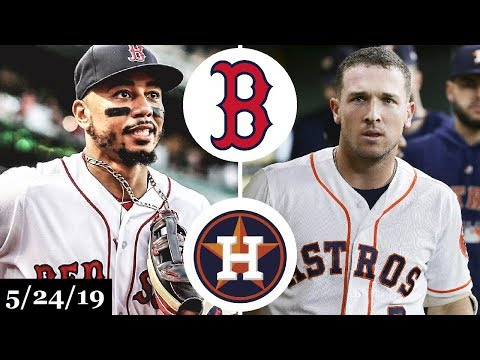 Boston Red Sox vs Houston Astros - Full Game Highlights | May 24, 2019 | 2019 MLB Season
