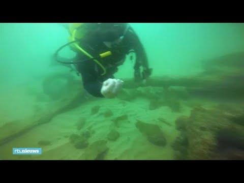 'Belangrijkste vondst ooit': 400 jaar oud scheepswrak ontdekt in Portugal - RTL NIEUWS