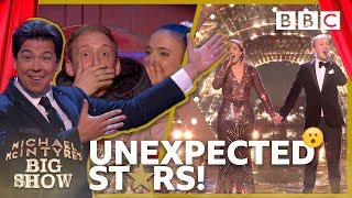 Michael's HORROR show 😱 for unsuspecting couple ends in tears of joy - BBC