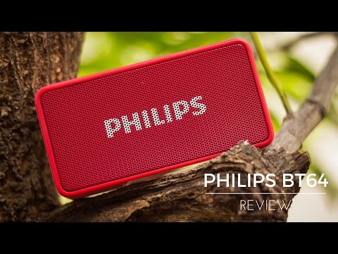 video Philips BT64 3 W Portable Bluetooth Speaker Review<span class=