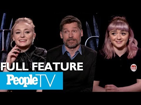 Game Of Thrones: The Cast On Their Favorite Scenes, First Days & More (FULL)   Entertainment Weekly