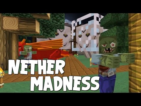 Minecraft - Attack Of The B Team - Nether Madness!! [25] - iBallisticSquid  - hhhr00M2k1Q -
