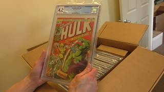 Sell My Comic Books CGC KEYS UNBOXING! Incredible Hulk 181, Giant-Size X-Men 1 and More...