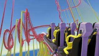 Built an Impossible 24,753 Foot Long Giga Roller Coaster - Parkitect