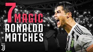 7 Moments of Cristiano Ronaldo Magic at Juventus' Allianz Stadium!