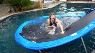 DON'T TRY THIS AT HOME!! (trampoline fail)