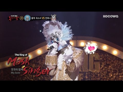 Crush(ft. Tae Yeon) - 'Don't Forget' Cover by KyuJong(SS501) [The King of Mask Singer Ep 146]