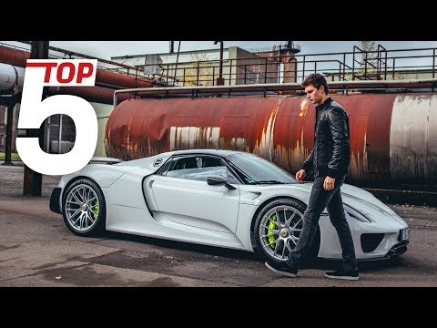 Porsche Top 5 ?Most stunning features of the 918 Spyder with Ansel Elgort & Lars Kern