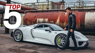 Porsche Top 5 –Most stunning features of the 918 Spyder