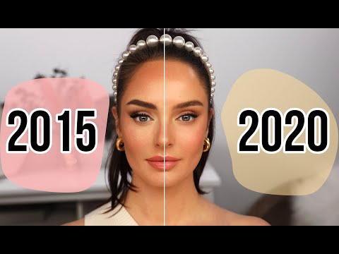 """My Makeup Technique THEN vs NOW: How Has My Style Changed"""""""
