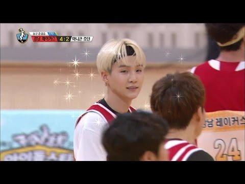 【TVPP】 SUGA(BTS) - First goal, 슈가(방탄소년단) - 이번 대회 첫 득점 @ 2015 Idol Star Championships