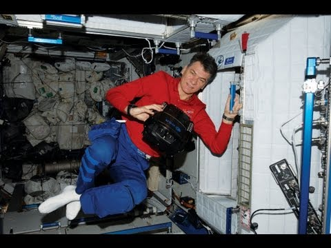 Visit the ISS in 3D with Paolo Nespoli