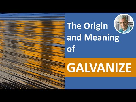 The Meaning Of GALVANIZE And Frogs' Legs!