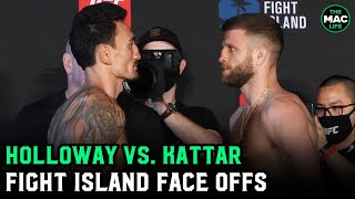 UFC Fight Island 7: Max Holloway vs. Calvin Kattar Final Face Offs