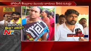 Bhuma Brahmananda Reddy face to face over polling..
