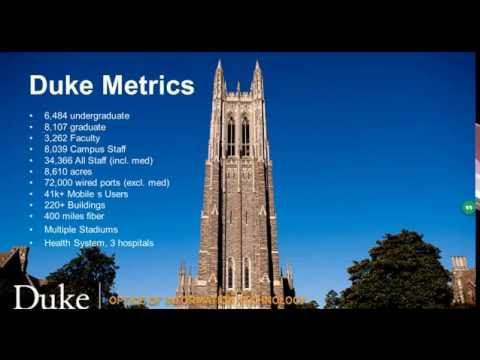 Live From Duke University: Business Models and Strategies for Campus DAS Deployments