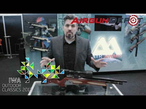 IWA 2017: WEIHRAUCH, AIR ARMS, AIRFORCE First Look at NEW GUNS (IWA 5/6)