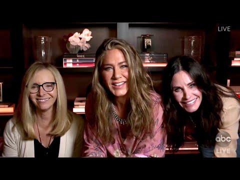 Jennifer Aniston, Courteney Cox & Lisa Kudrow Really Live Together!